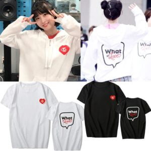 kpop what is love t-shirts