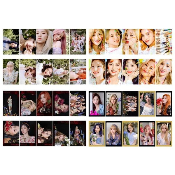 twice photo cards (album edition)