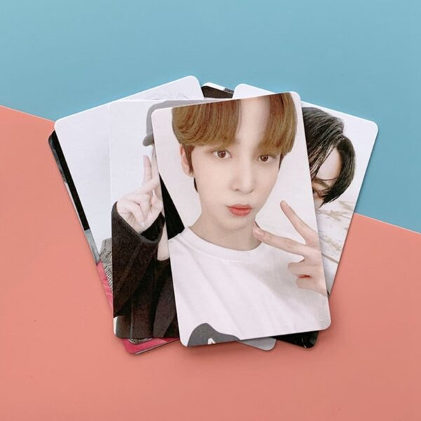 ateez photo cards for fans