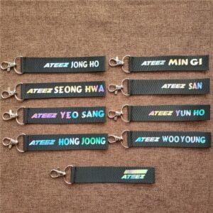 ateez keychains for atiny