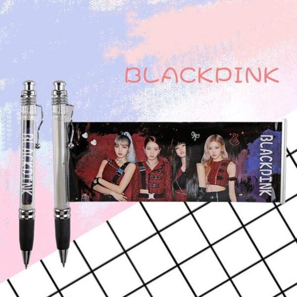 blackpink gel pen