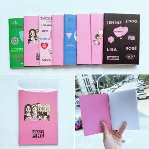 blackpink idol notebooks