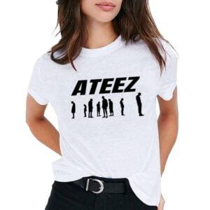 ateez atiny t-shirts