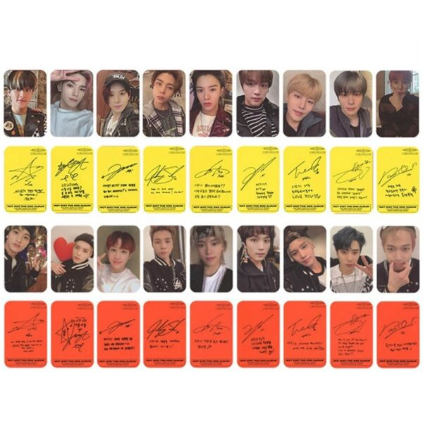 nct 127 new album photo cards