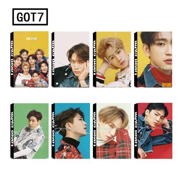 got7 photo cards hd