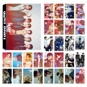 got7 never ever album photo cards