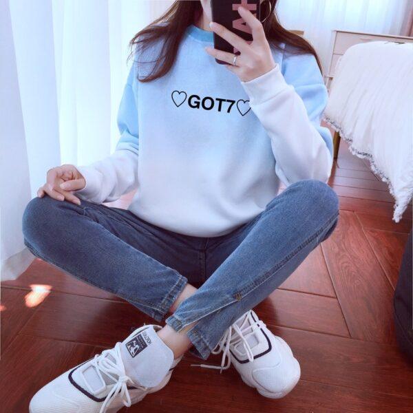 got7 idol sweatshirts