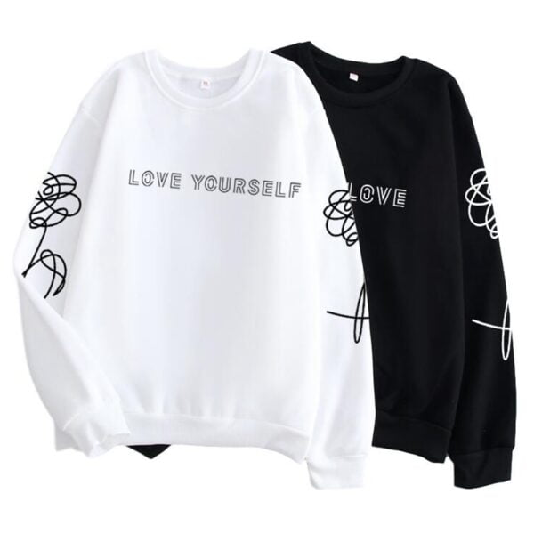 BTS love yourself sweatshirts