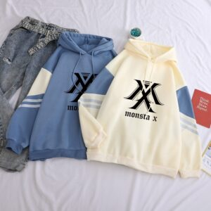 monsta x hoodies harajuku