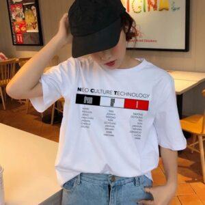 NCT Harajuku aesthetic t-shirts