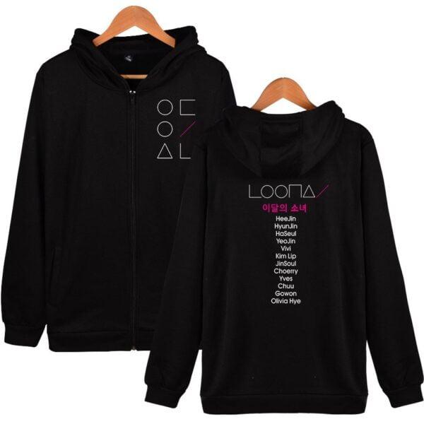 Loona Zipper Hoodies
