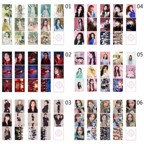 Loona Photo Cards