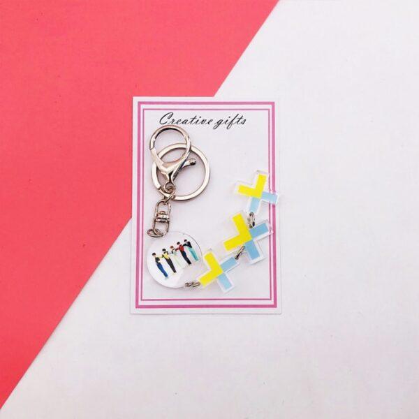 TXT Mini lightstick keychains