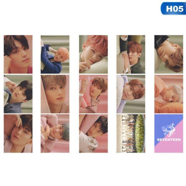 Seventeen Photo Cards