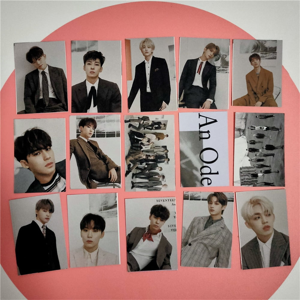 Seventeen Photo Cards HD Collection