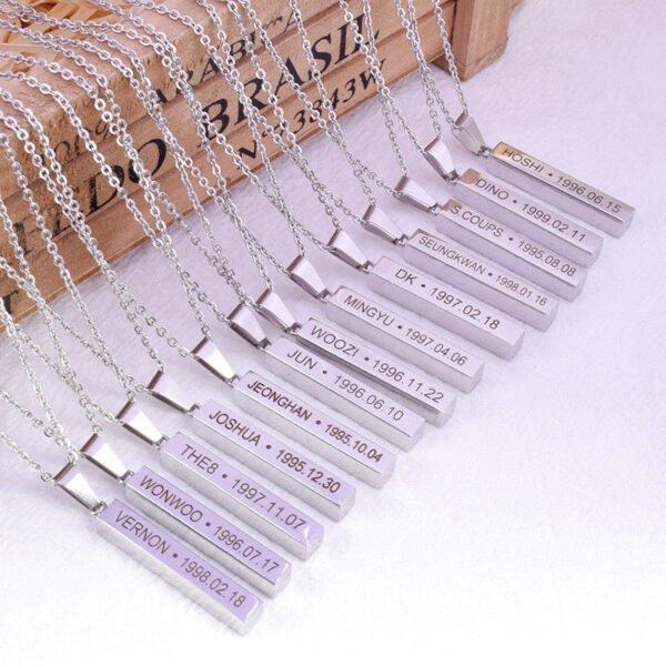 Seventeen Idol Necklaces