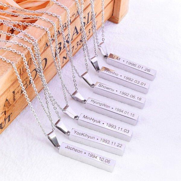 Monsta X Necklace Pendant