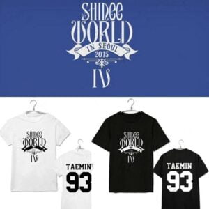 Shinee All Idols T-Shirts