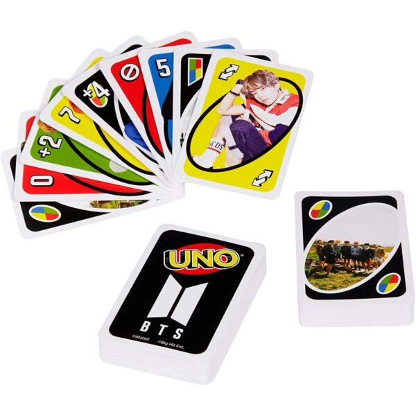 BTS UNO Cards
