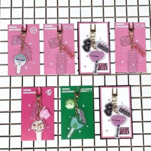 Kpop Keychains for all groups