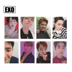 EXO Official Album Photo Cards