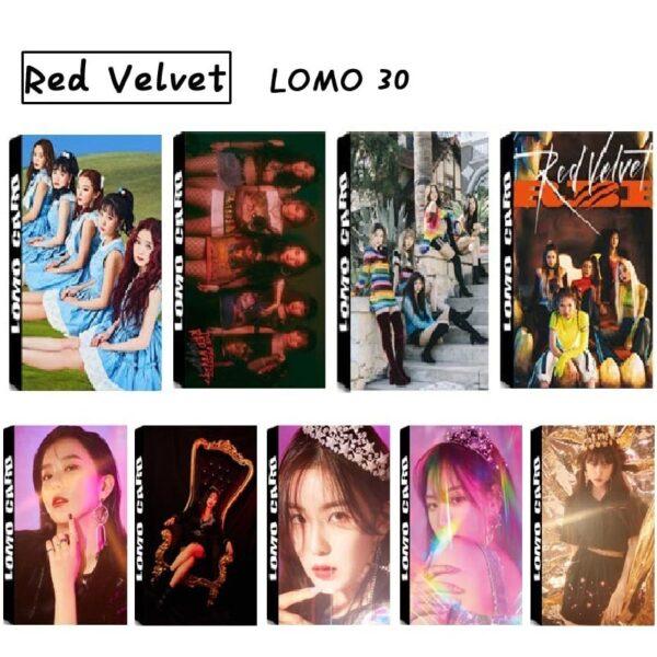 Red Velvet Photo Cards