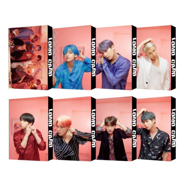 BTS Map of the Soul Photo Cards Official