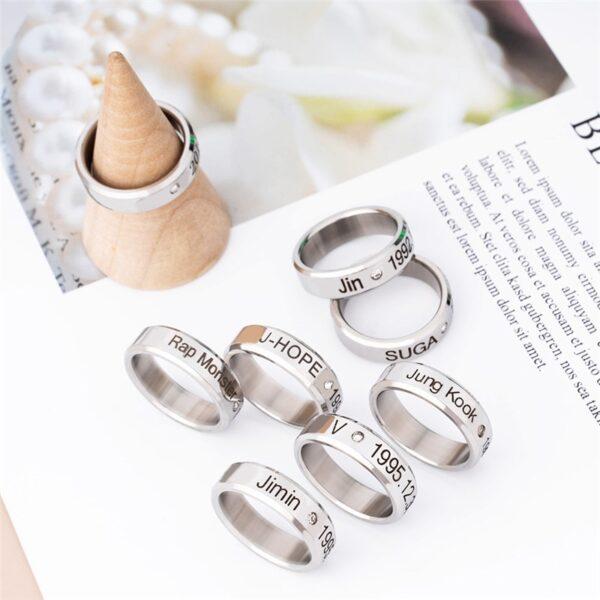 BTS Jewelry Rings