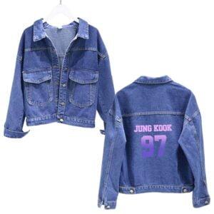 BTS Blue Denim jackets