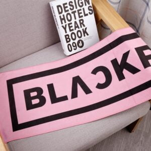 blackpink face towel
