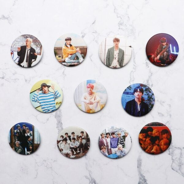 bts badges collection